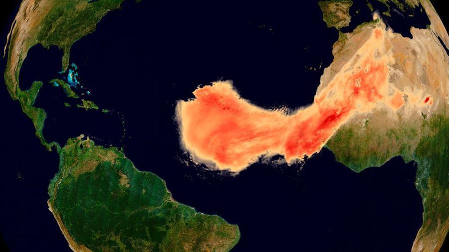 Sahara jamais observé