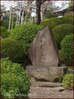 20200426 碑 2  護国寺富士