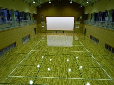 大和田体育館体育室