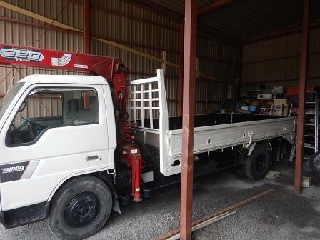 トラック荷台塗装2020