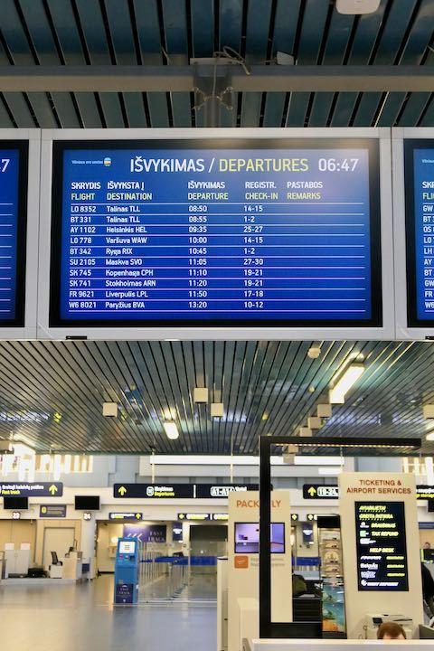 ヴィリニュス空港 - 1 (2)