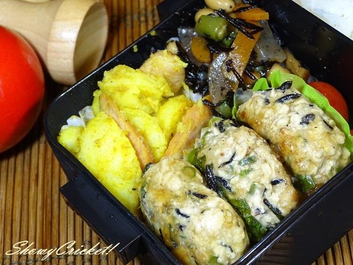 2020-07-11豆腐ハンバーグ弁当 (10)