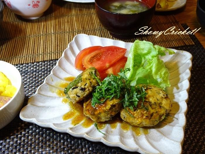 2020-07-11豆腐ハンバーグ弁当 (1)