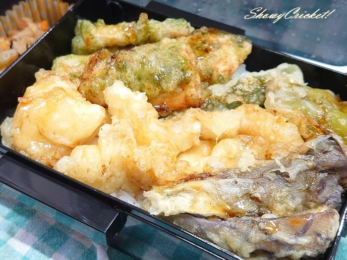 2020-09-11天丼弁当 (2)