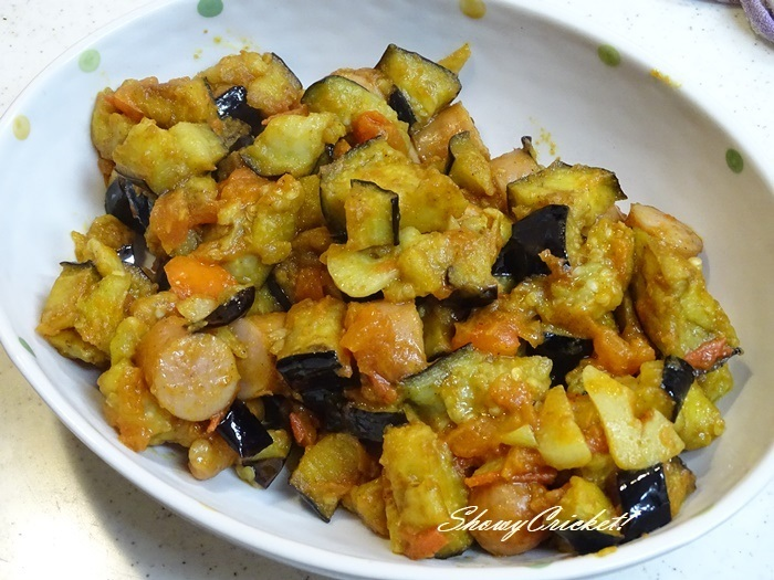 2020-10-28ナスのカレートマト炒め弁当 (12)