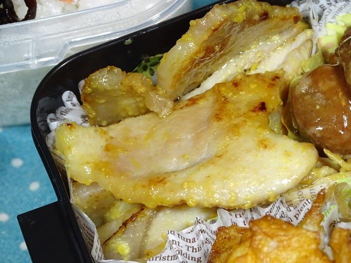 2020-10-09豚ロース信州味噌焼き弁当 (2)