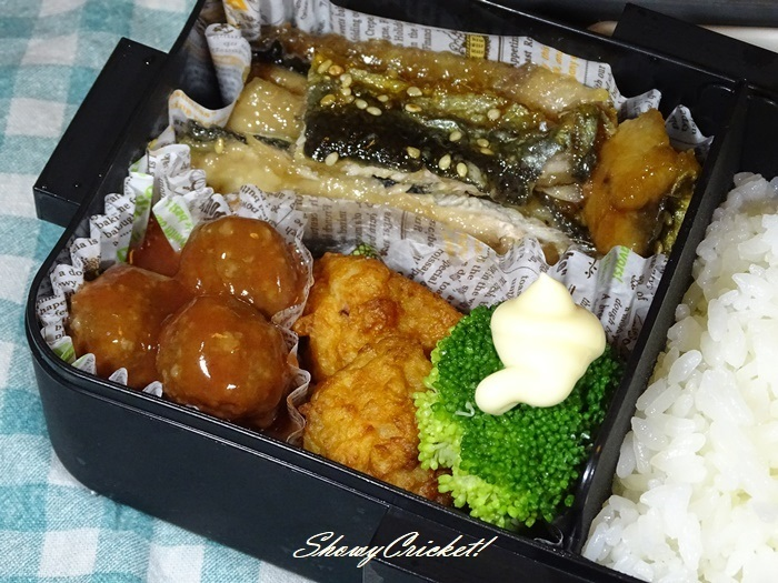 2020-10-21サンマのかば焼き弁当 (2)