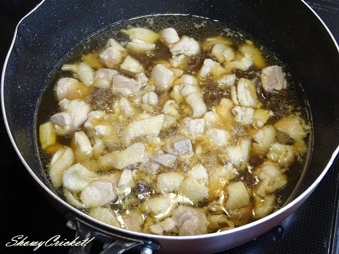 2020-11-04鶏もものおろし煮弁当 (3)