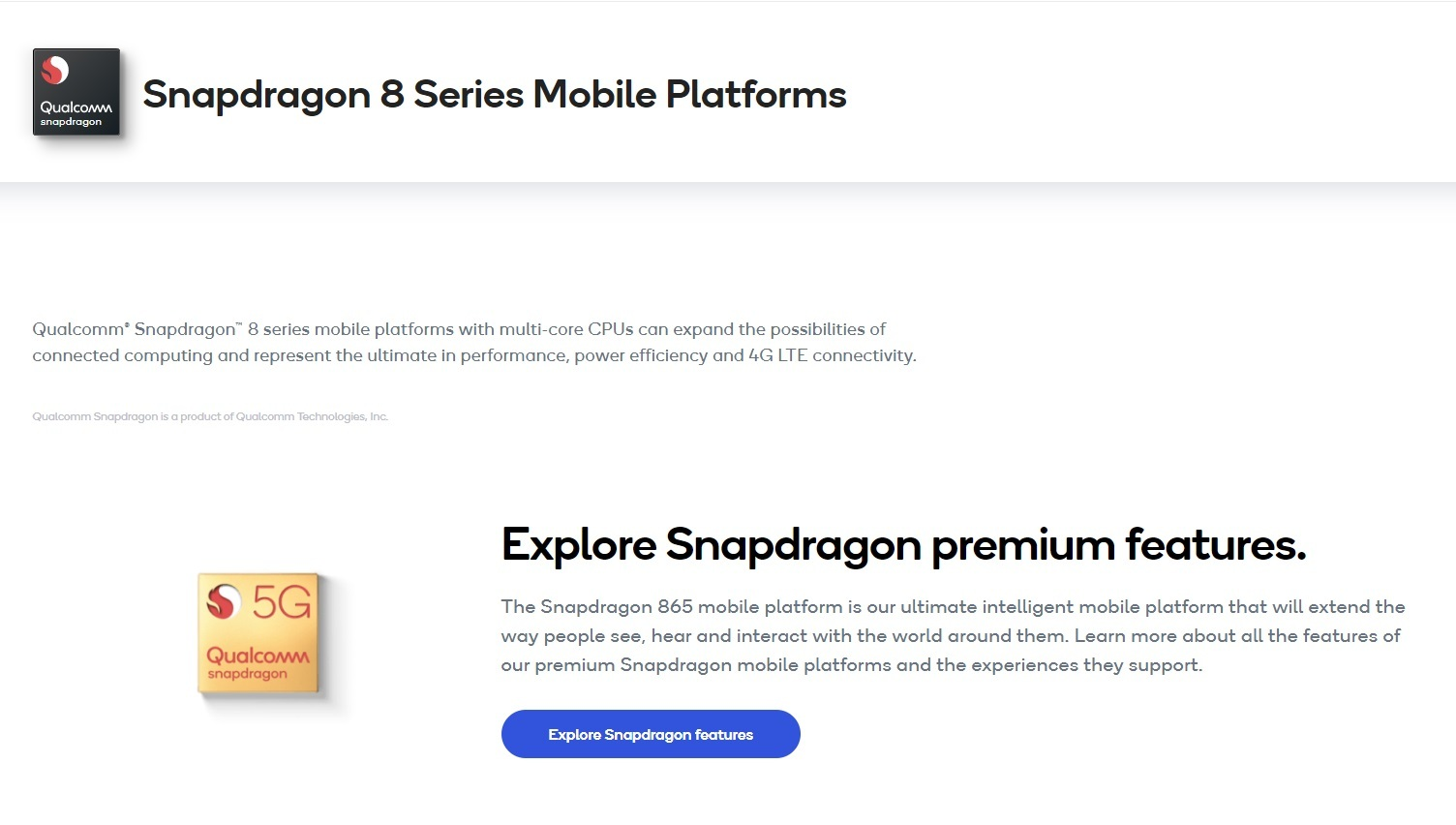 snapdragon 8 series