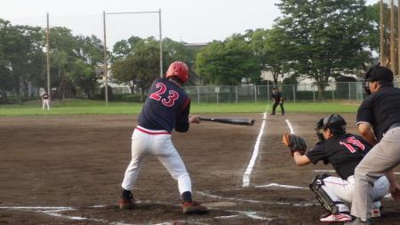 P8055810熊本早起き2回表2死三塁から7番の内野安打で1点返す