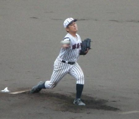 P8080301球楽會宮良投手