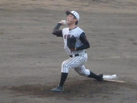 P8211700 球楽會先発宮良投手