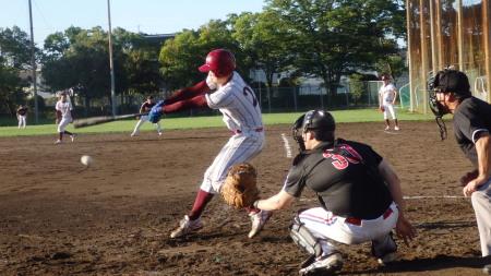 P8292160熊本トヨタ2死一、二塁から4番が三振で試合終了