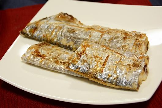 太刀魚塩焼き20200810