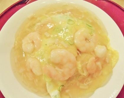 海老卵丼 1