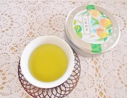 ルピシア 白桃煎茶