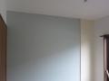 壁紙貼り 途中