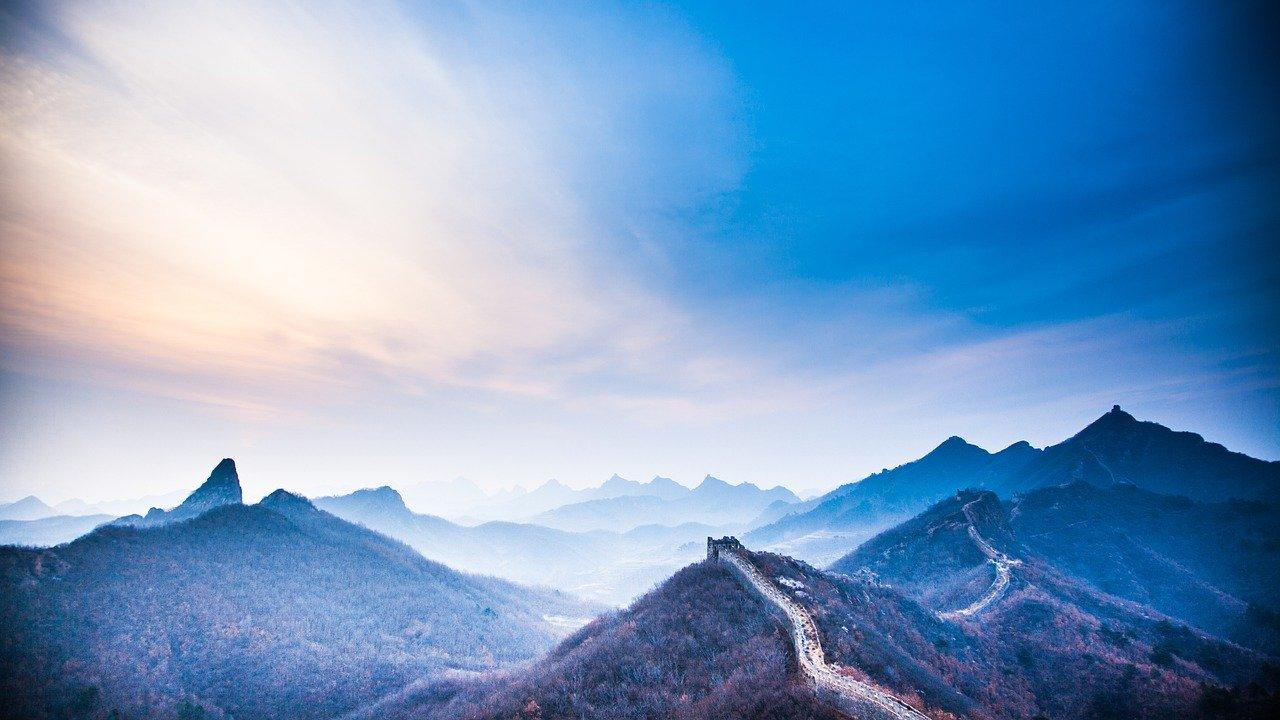 200512万里の長城