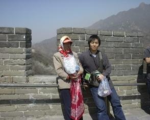 200522万里の長城ハンカチ