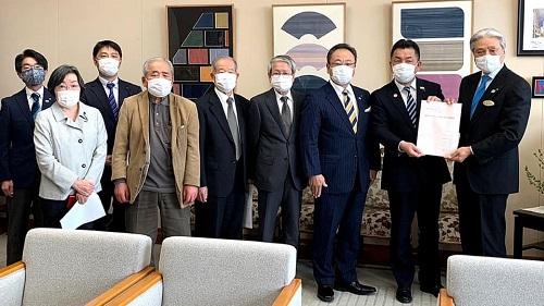 新型コロナウイルスに関する野党5党による栃木県への緊急要望!①