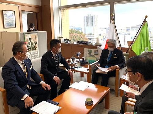 新型コロナウイルスに関する野党5党による栃木県への緊急要望!②