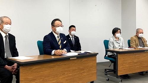 新型コロナウイルスに関する野党5党による栃木県への緊急要望!③
