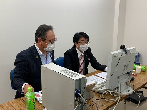 「全国幹事会・自治体議員団等役員合同WEB会議」の開催①