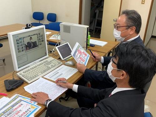 「全国幹事会・自治体議員団等役員合同WEB会議」の開催②