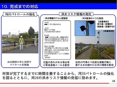 栃木県 被災5河川<改良復旧>事業 説明動画 公開される!⑭
