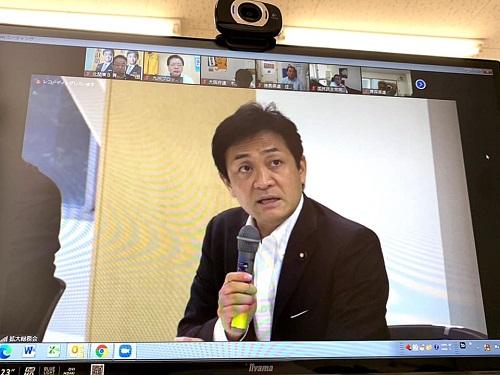 国民民主党<拡大総務会>にWEB参加!②