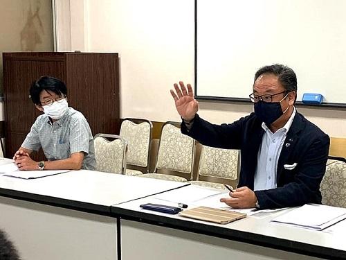 国民民主党とちぎ<臨時幹事会>開催②