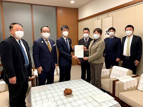 栃木県知事に新型コロナ対策<緊急要望>!①