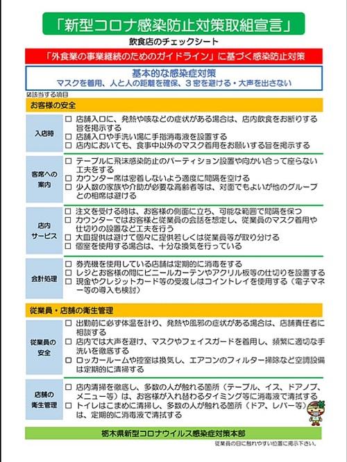 【栃木県】緊急事態宣言 ⇒ 8日から特定警戒 ・医療危機警報 へ!(~21日まで)速報⑤