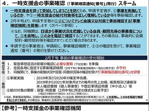 経済産業省(中小企業庁)より「一時支援金」詳細内容が公表される!⑤