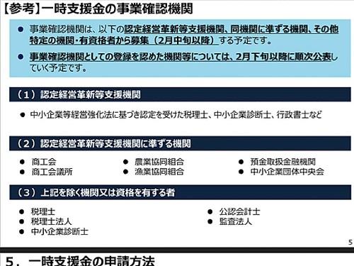 経済産業省(中小企業庁)より「一時支援金」詳細内容が公表される!⑥