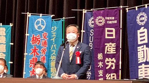 第92回 連合栃木メーデー«宇河地区 大会»へ!③