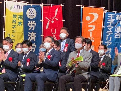 第92回 連合栃木メーデー«宇河地区 大会»へ!⑤