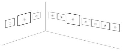 楊越巒コロタイプ写真展「長城を視る」1