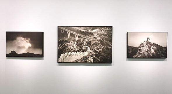 楊越巒コロタイプ写真展「長城を視る」5
