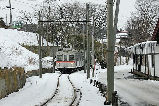 s-⑧雪の中