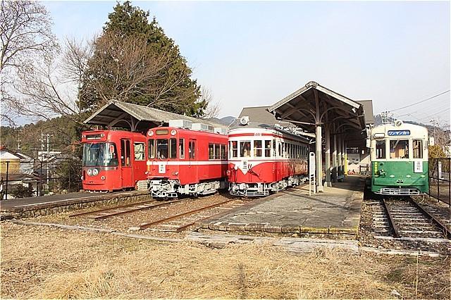 ⑩美濃町駅現在