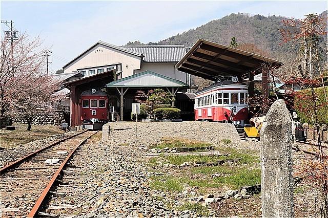 ⑭旧谷汲駅ホーム