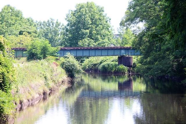 ②田名部付近の鉄橋