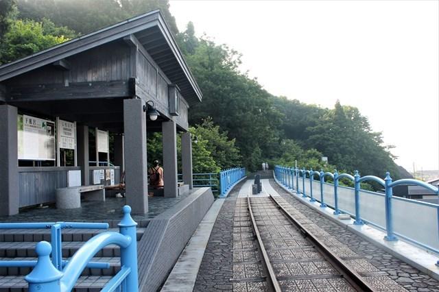 s-⑭整備された下風呂温泉駅