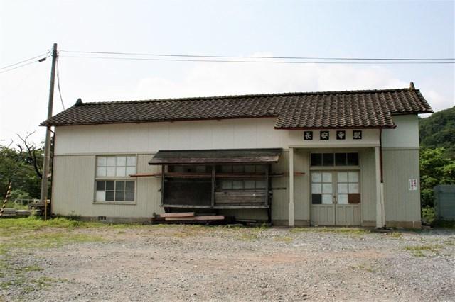 ⑲長安寺駅舎