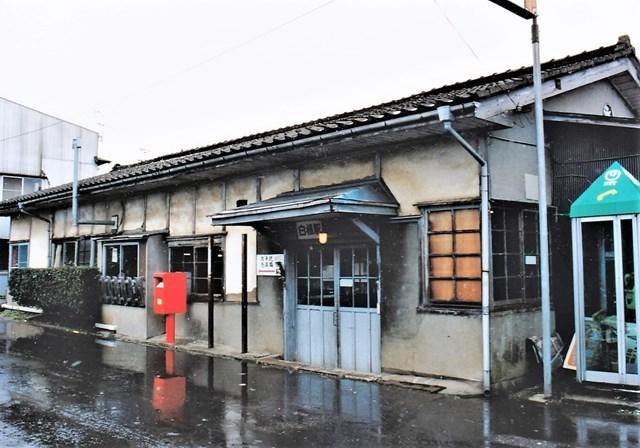 ⑮白根駅舎