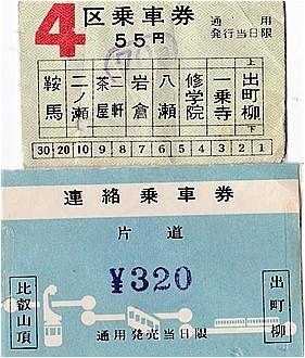 ⑬S42-47きっぷ