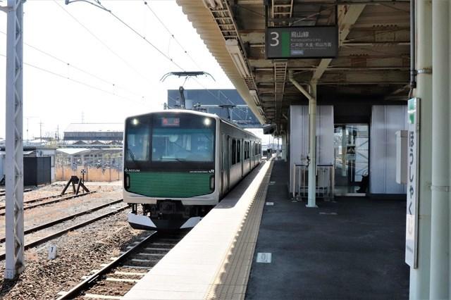 ①宝積寺駅
