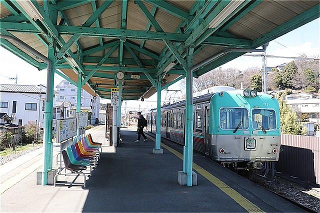 ㉕西桐生駅ホーム