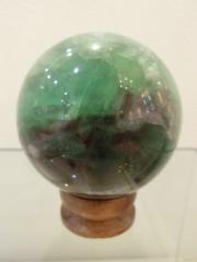 フローライト球体
